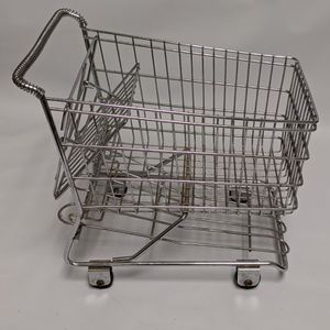 Vintage Metal Miniature Shopping Cart for Store Display or Dolls Awesome! for Sale in Camp Pendleton North, CA
