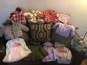 Girl Toddler Coats, Jackets and Easter Dress w/Cardigan for Sale in Washington, DC