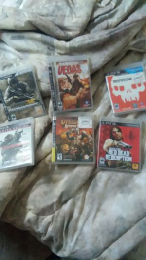 ps3 gAmes for Sale in Show Low, AZ
