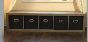 New!! Storage cube, cube organizer, bench for Sale in Phoenix, AZ