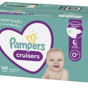 Pampers Cruisers Size 3 Diapers Pañales for Sale in Redondo Beach, CA