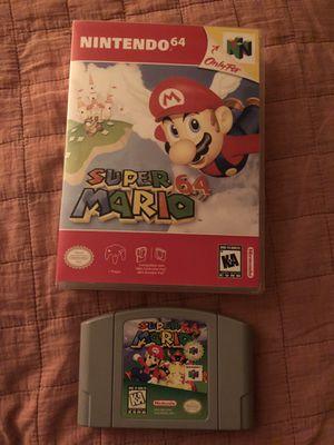 Super Mario 64 for Sale in Garland, TX