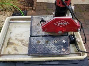 Mk wet saw for Sale in Kingsport, TN