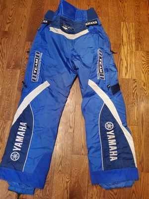 Yamaha Snowmobile Racing Pants. Men's XL for Sale in Britton, MI