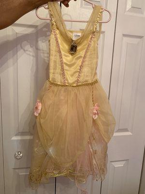 Disney store belle Halloween costume 4T for Sale in Hialeah, FL
