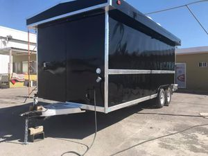 Food Trailer 8x18 black available for Sale in Dallas, TX