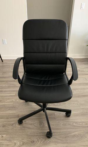 Black IKEA Renberget Desk Chair for Sale in Los Angeles, CA