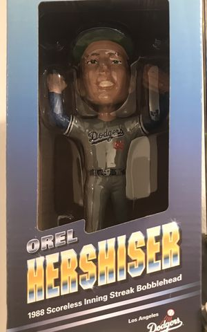 Orel hershiser bobblehead for Sale in Los Angeles, CA