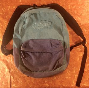 Vans Backpack $15 Or Best Offer for Sale in March Air Reserve Base, CA