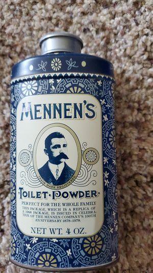 Vintage Mennen's toilet power for Sale in Little Chute, WI