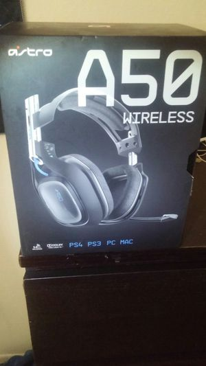 A50 wireless gaming headphones w/microphone and mixamp for Sale in Tucson, AZ
