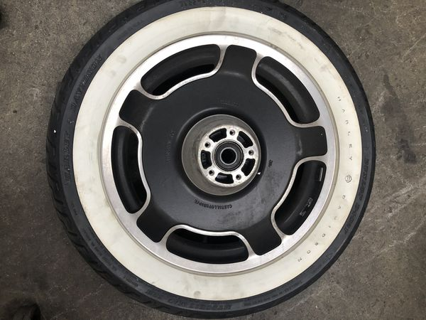 Harley-Davidson front wheel tire is included