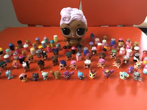 LOL babies/Pets/Bottles and big doll. 84 pieces total for Sale in Savage, MD