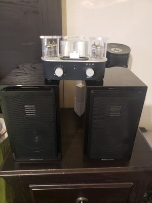 Martin logan and tube amplifier audiophile! for Sale in San Marcos, CA