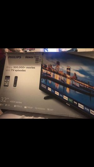 "Philips Roku 32 "" inch Tv for Sale in Pottsville, PA"
