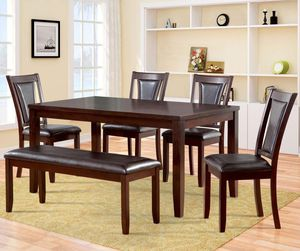 6 piece wood table for Sale in Winter Haven, FL