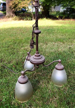 Chandelier - 3 lights for Sale in Tigard, OR