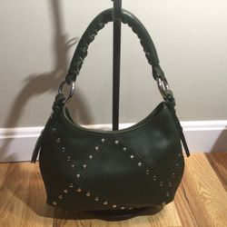 Vintage Desmo Green Leather Handbag for Sale in Peabody,  MA