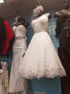 Pinup style wedding dress or prom dress for Sale in San Bernardino, CA