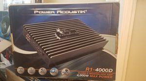 Power Acoustik 4,000 for Sale in San Bernardino, CA