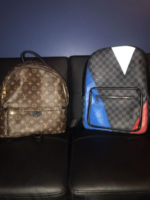 Louis Vuitton bookbag for Sale in Severn, MD