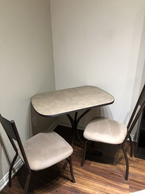 Dining room/Kitchen Table and 2 chairs for Sale in Los Angeles, CA