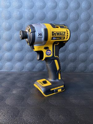 DEWALT 20VOLT MAX XR LITHIUM ION CORDLESS BRUSHLESS 1/4 impact driver (TOOL ONLY) for Sale in Redlands, CA