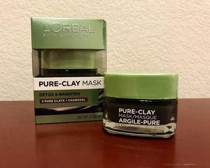 L'Oreal Pure-Clay Detox & Brighten Mask for Sale in Ashburn, VA
