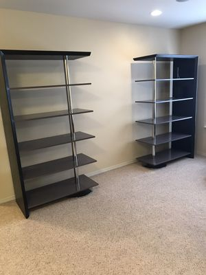 Office desk with file cabinet and bookcases. for Sale in Bonney Lake, WA
