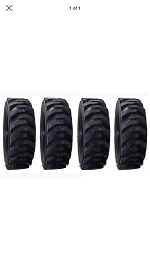 4x Skid steer tire 12x 16.5 14ply $520 no lowball for Sale in San Bernardino, CA