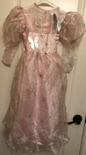 Girl Princess Dress & Crown Pink Halloween Costume Small for Sale in Las Vegas, NV