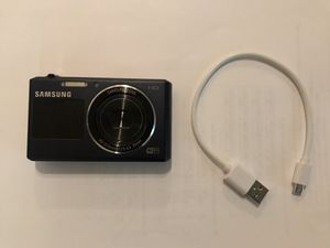 Samsung DV105F 16.2MP Smart WiFi Digital Camera (Dark Blue) for Sale in Evergreen, CO