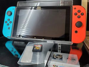 Nintendo switch w/ game UNPATCHED 100681 SERIAL for Sale in Orlando, FL