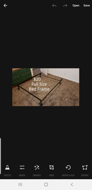 Basic Bed Frame for Sale in Riverton, UT