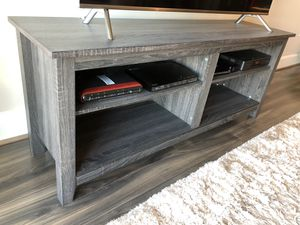 TV stand w compartments - in Reston VA for Sale in Herndon, VA