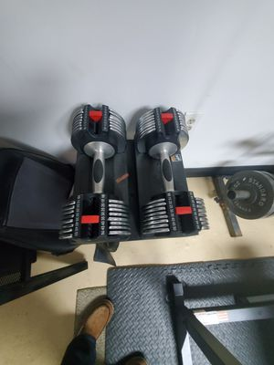 Adjustable dumbbells for Sale in Trenton, NJ