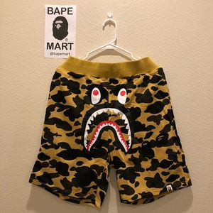 Bape shark shorts camo yellow (fits like medium/large) for Sale in Los Angeles, CA