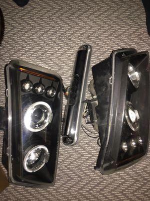 Silverado lights headlights, taillights , third brake light too for Sale in Elk Grove, CA