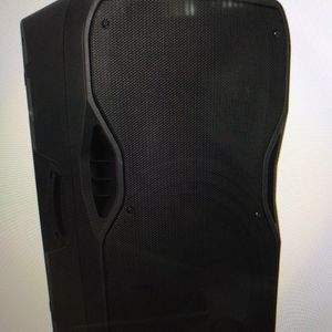 15 Inch Public Address Speaker System With Batteries for Sale in West Palm Beach, FL