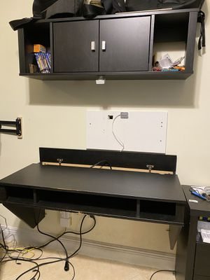 Wall mounted Desk & Storage for Sale in Hollywood, FL