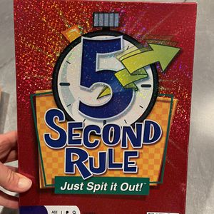 Family Board Game- 5 Second Rule for Sale in San Diego, CA