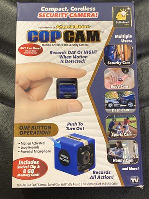 Cop Cam Mini Security Camera for Sale in Monsey, NY