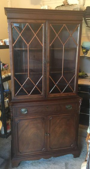 Antique mahogany China hutch for Sale in Lake Worth, FL