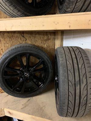 "Rims and tires 18"" 5*114 for Sale in Manassas, VA"