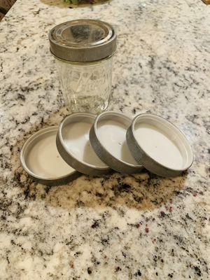 Decorative mason jar lids for Sale in Santa Barbara, CA