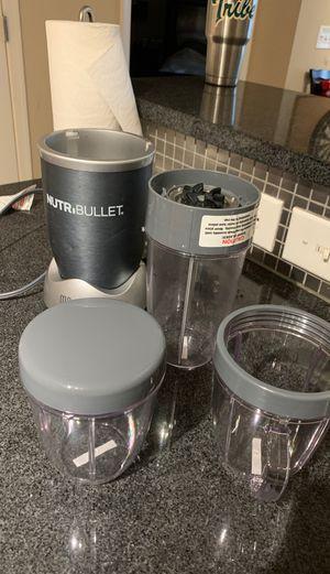 NutriBullet + 3 Blender Cups for Sale in Washington, DC