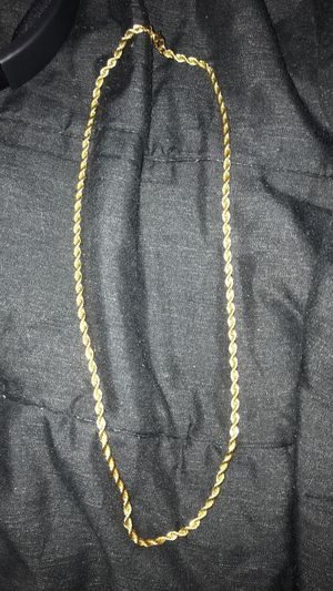 Gold plated necklace for Sale in Orlando, FL