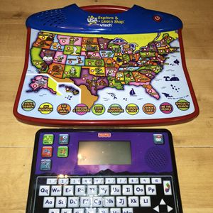 Fisher Price Tablet And Explore/Learn Map for Sale in Burrillville, RI
