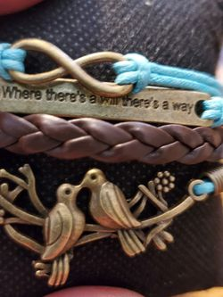 Blue Brown Bird Bracelet for Sale in Wenatchee,  WA