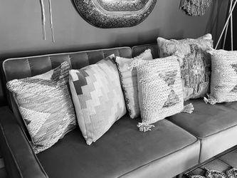 Grey Sofa Bed Velvet New In Box for Sale in Los Angeles,  CA